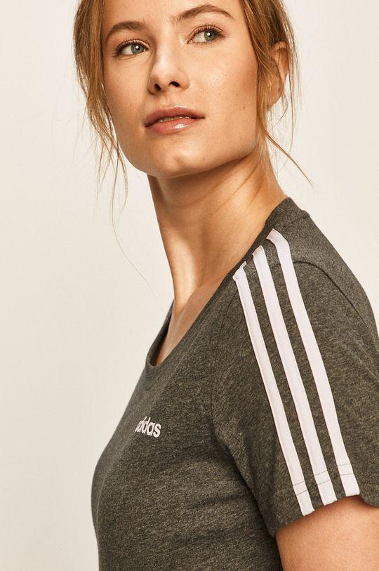 šedá adidas - Tričko