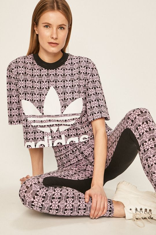 roz ascutit adidas Originals - Tricou De femei