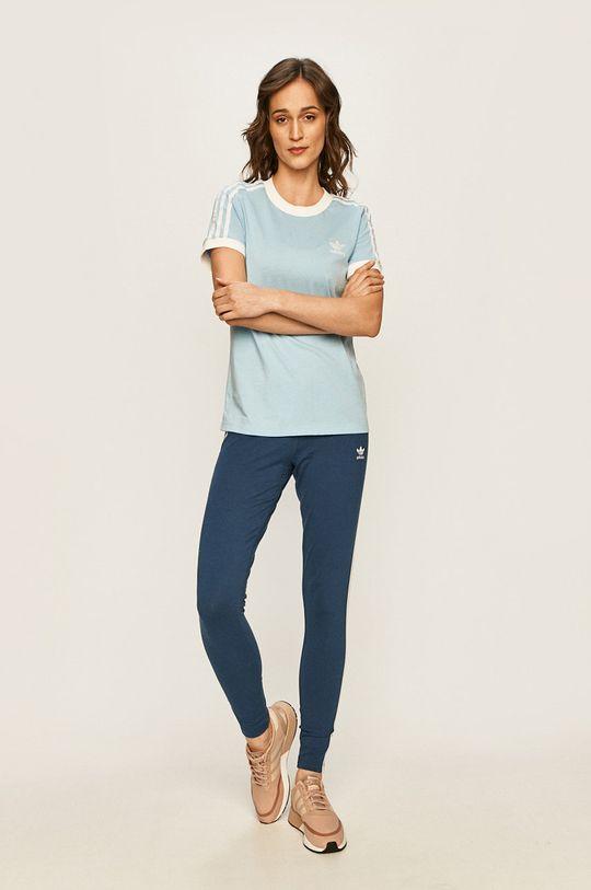 adidas Originals - Tričko světle modrá
