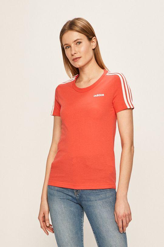 červená adidas - Tričko Dámský