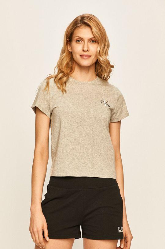 svetlosivá Calvin Klein Underwear - Tričko CK One Dámsky