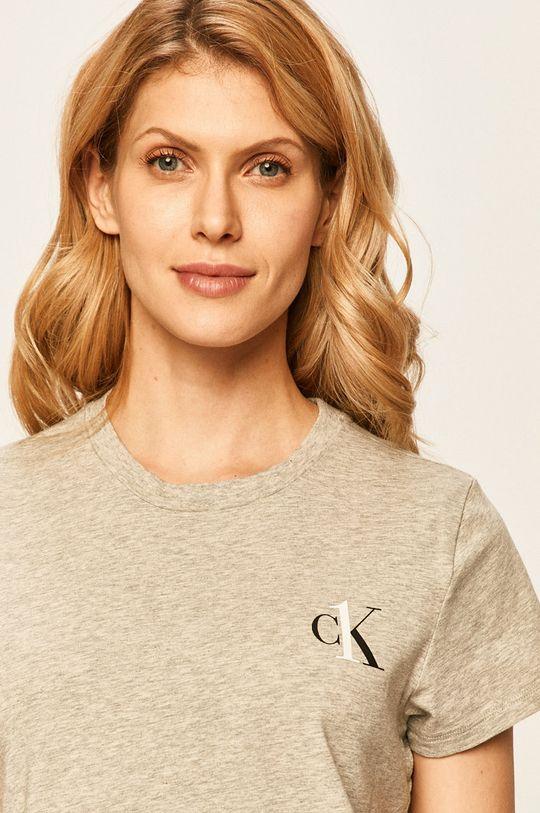 Calvin Klein Underwear - Tričko CK One svetlosivá