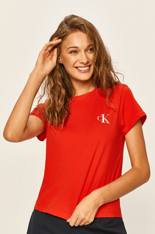 červená Calvin Klein Underwear - Tričko CK One Dámský