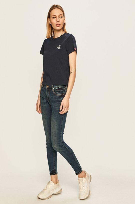 Calvin Klein Underwear - T-shirt CK One granatowy