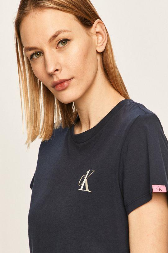 granatowy Calvin Klein Underwear - T-shirt CK One