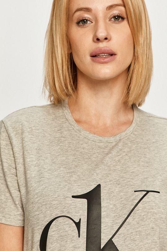jasny szary Calvin Klein Underwear - T-shirt CK One