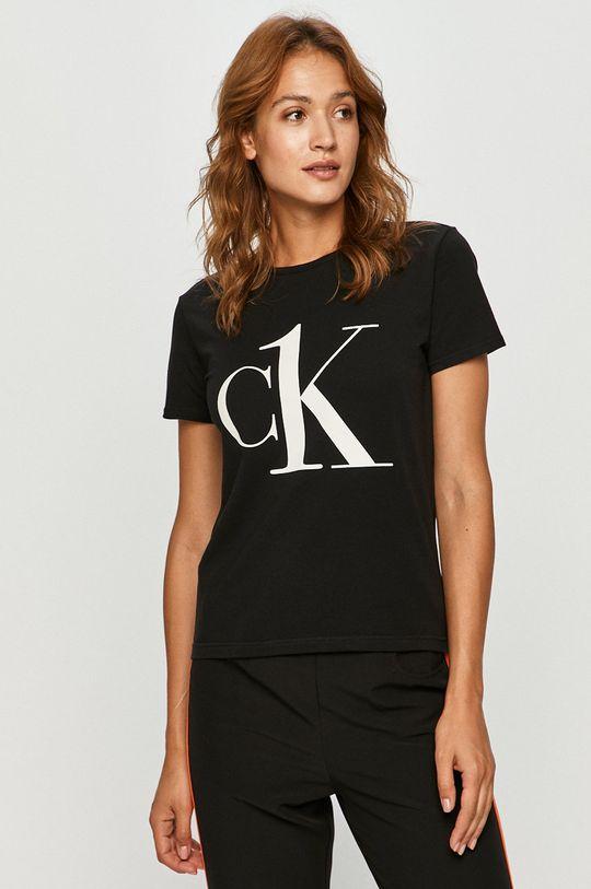 czarny Calvin Klein Underwear - T-shirt CK One Damski