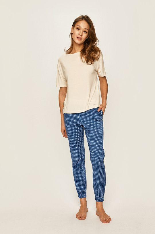 Calvin Klein Underwear - Pyžamové tričko smetanová
