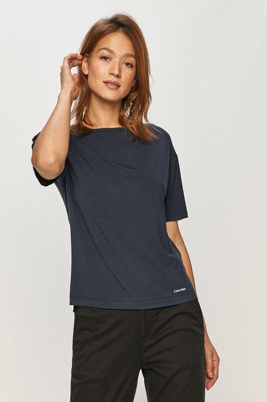 námořnická modř Calvin Klein Underwear - Pyžamové tričko Dámský