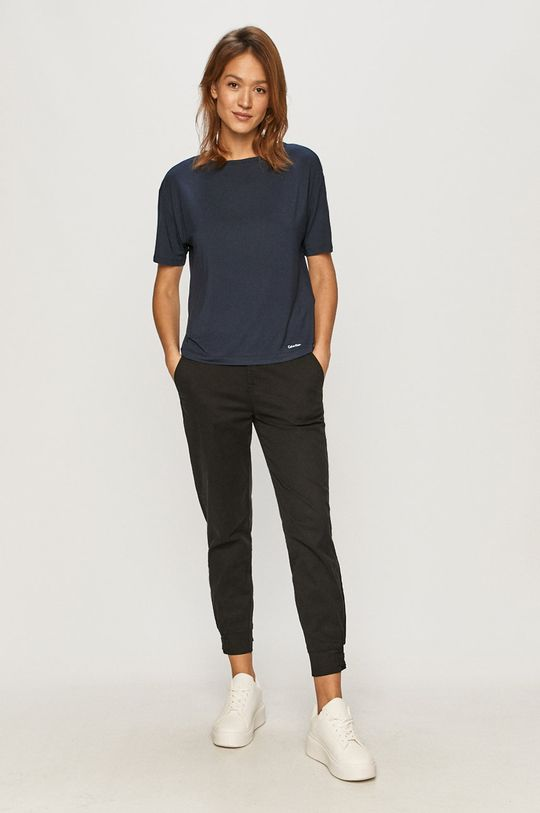 Calvin Klein Underwear - Pyžamové tričko námořnická modř