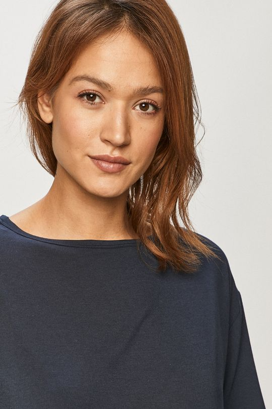 námořnická modř Calvin Klein Underwear - Pyžamové tričko