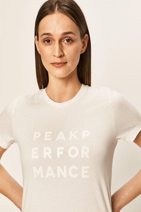 bílá Peak Performance - Tričko Dámský
