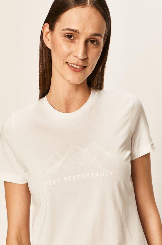 bílá Peak Performance - Tričko