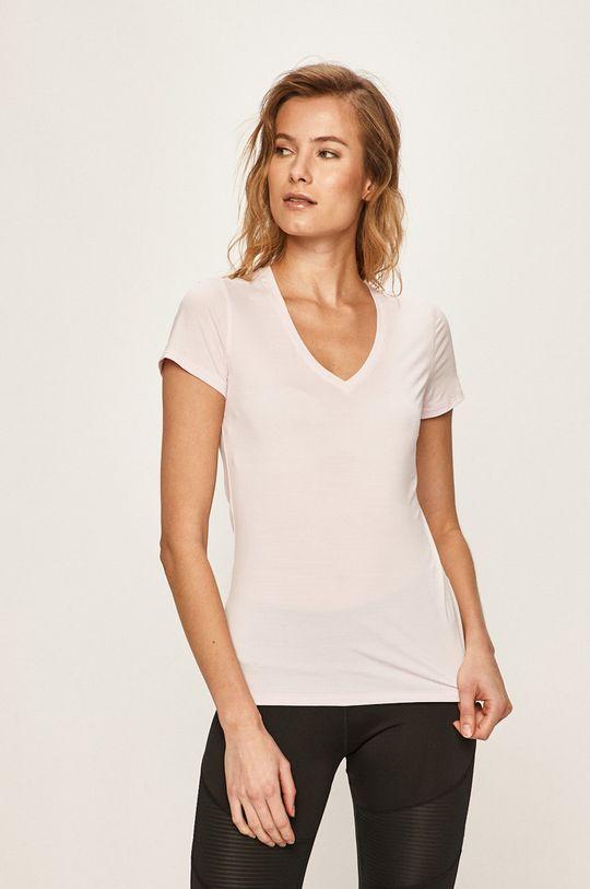 różowy Reebok - T-shirt Damski