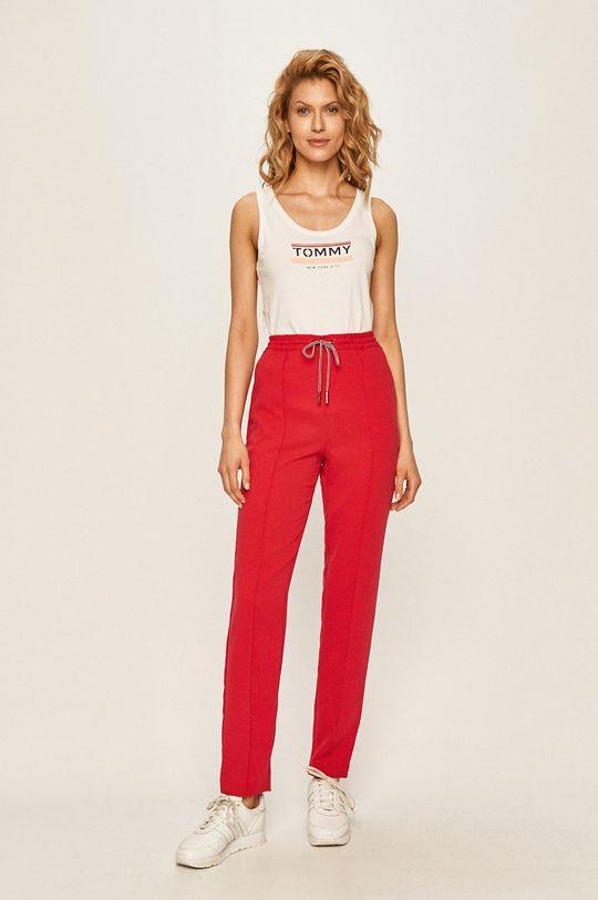 Tommy Jeans - Top biela