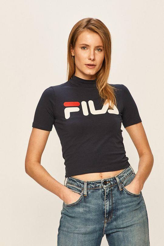 granatowy Fila - T-shirt Damski