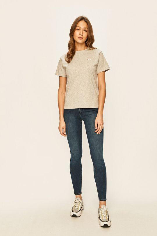 Fila - T-shirt jasny szary