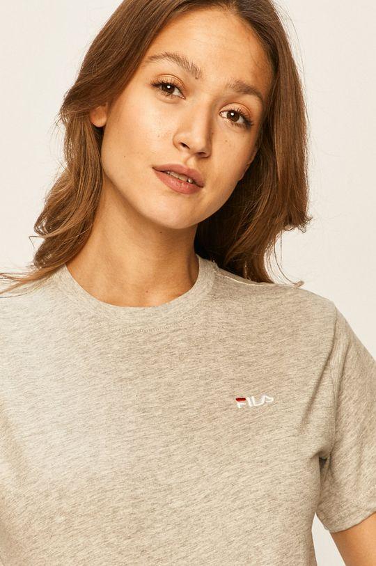 jasny szary Fila - T-shirt