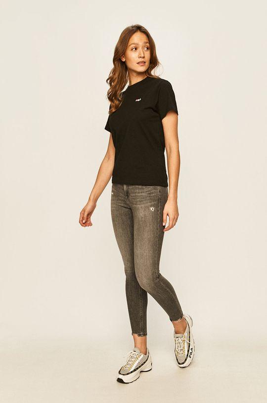 Fila - T-shirt czarny