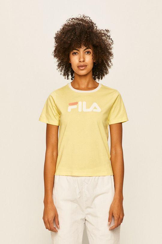 żółty Fila - T-shirt Damski