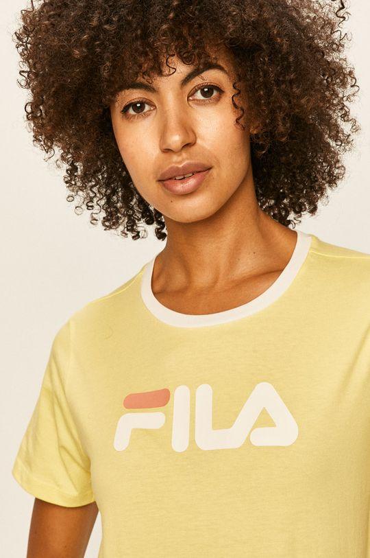 żółty Fila - T-shirt