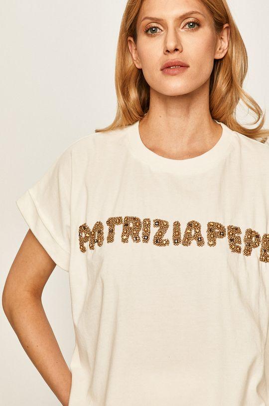 bílá Patrizia Pepe - Tričko