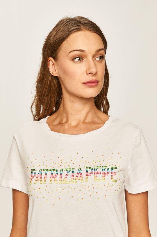 biały Patrizia Pepe - T-shirt