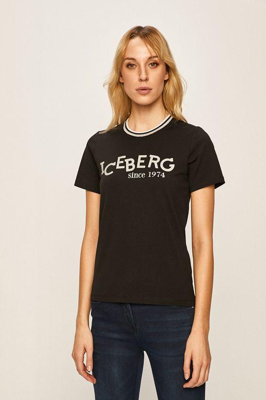 negru Iceberg - Tricou De femei