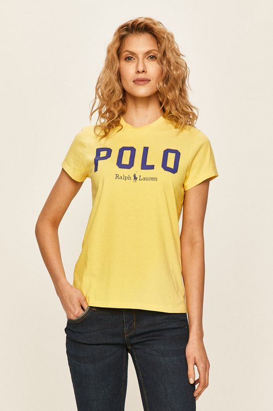 žlutá Polo Ralph Lauren - Tričko Dámský