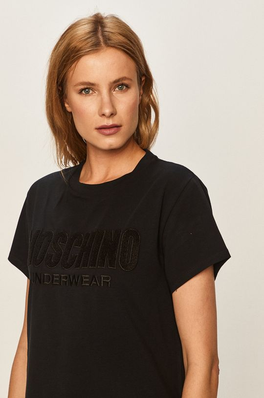 černá Moschino Underwear - Tričko