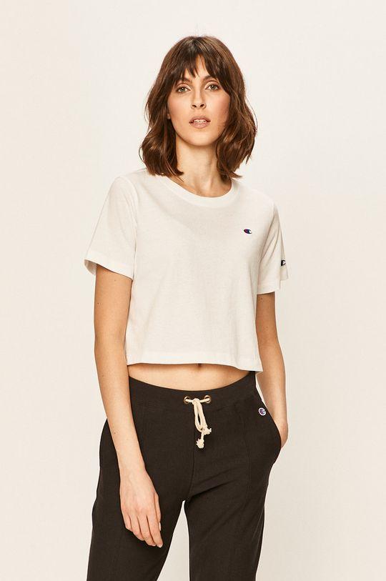 biały Champion - T-shirt Damski