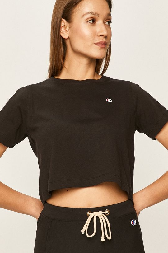 czarny Champion - T-shirt