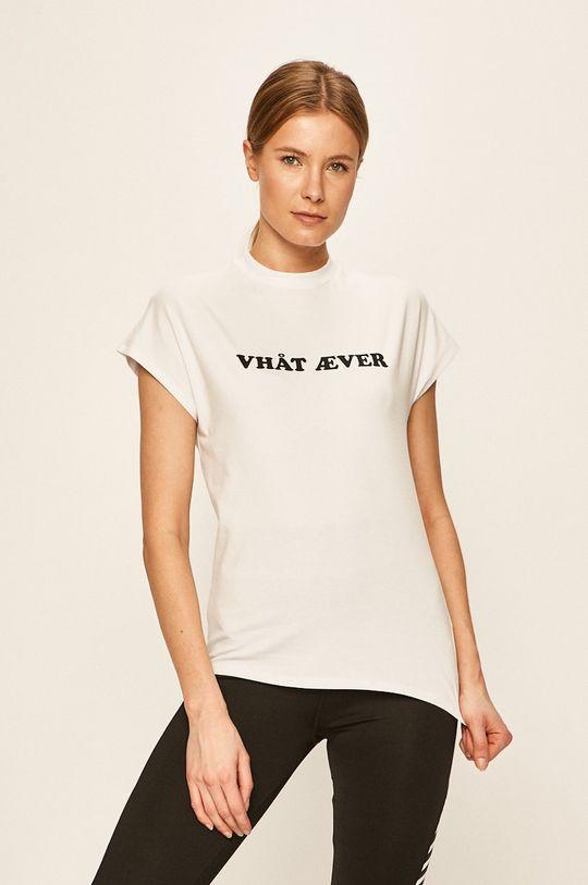 biały Hummel - T-shirt Damski
