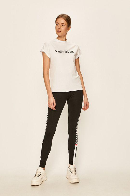 Hummel - T-shirt biały