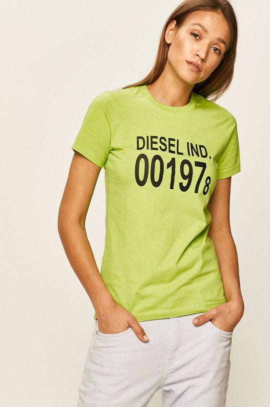 galben – verde Diesel - Tricou De femei
