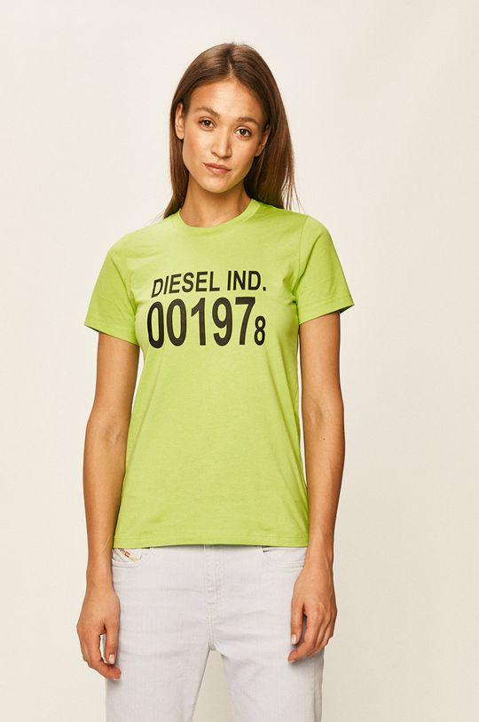 galben – verde Diesel - Tricou