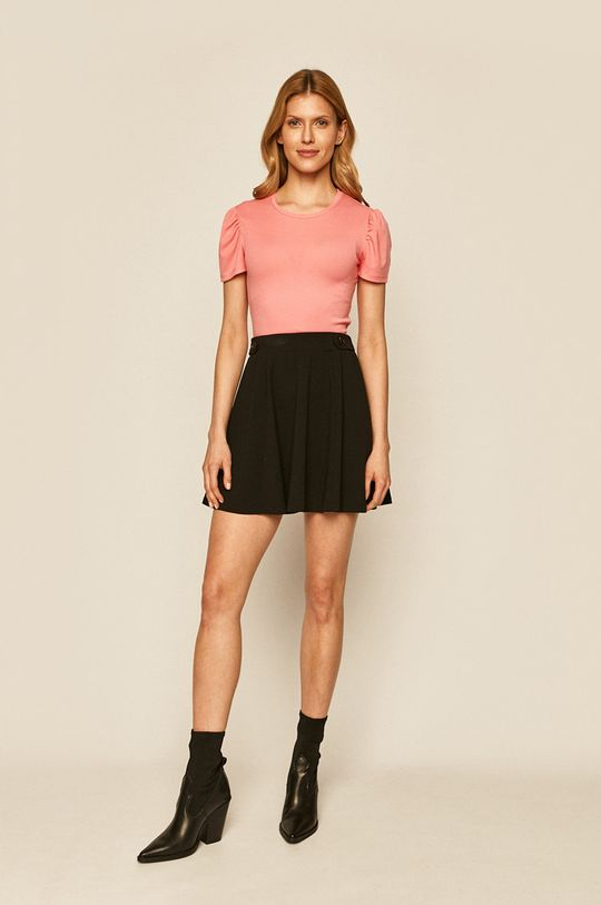 Only - Tričko pastelově růžová