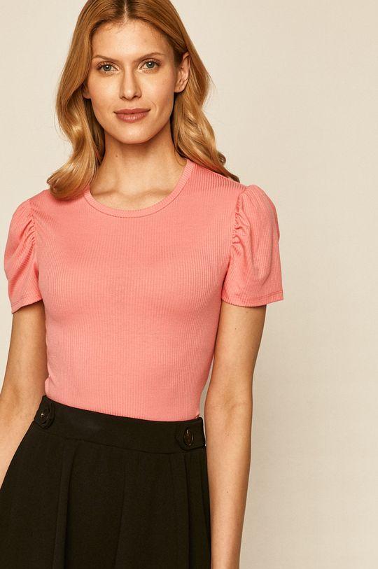 pastelově růžová Only - Tričko
