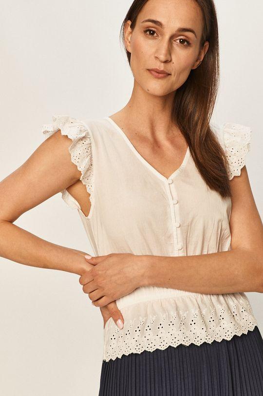 biały Jacqueline de Yong - Bluzka Damski