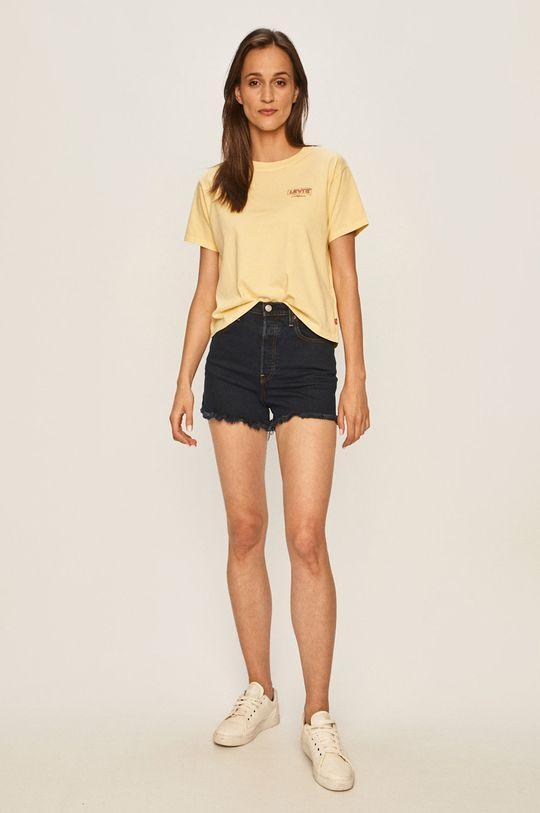 Levi's - T-shirt żółty