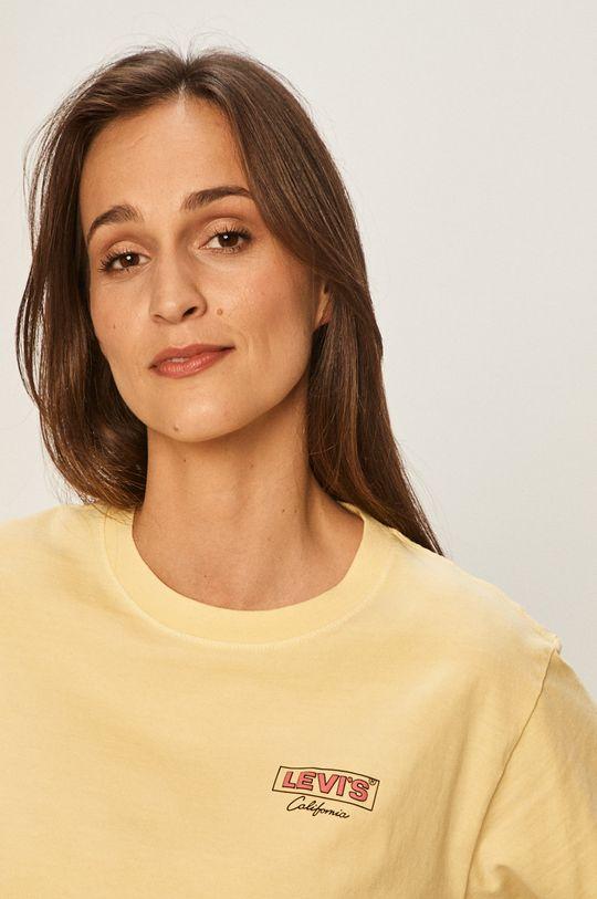 żółty Levi's - T-shirt