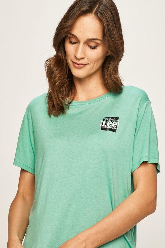 turkusowy Lee - T-shirt
