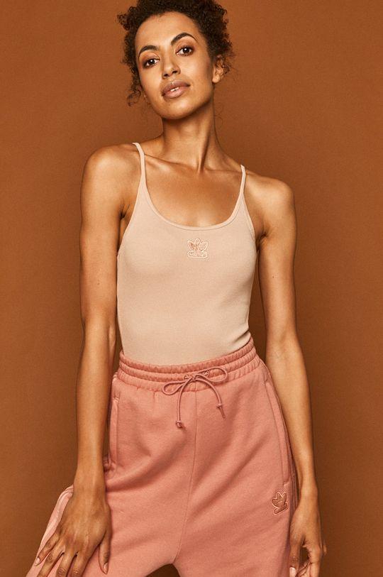 fiołkowo różowy adidas Originals - Top