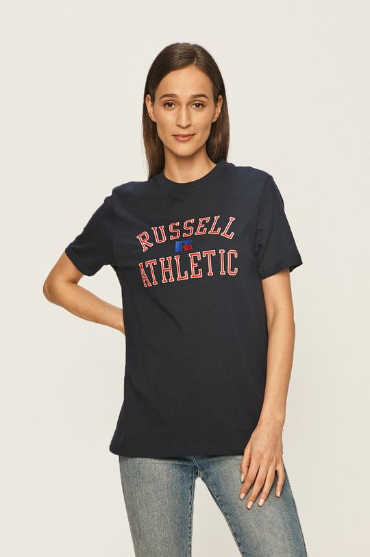 námořnická modř Russell Athletic - Tričko Dámský