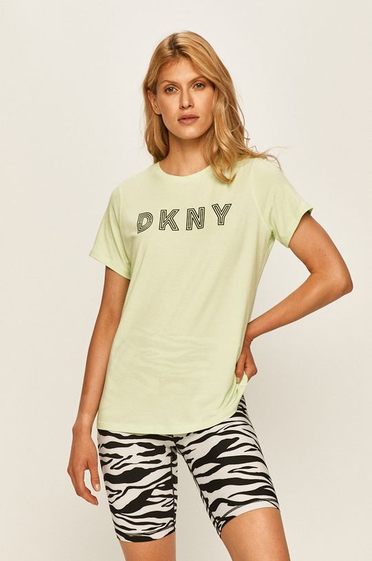 zielony Dkny - T-shirt Damski