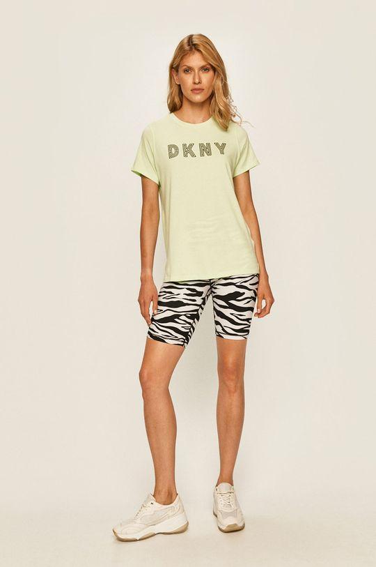 Dkny - T-shirt zielony