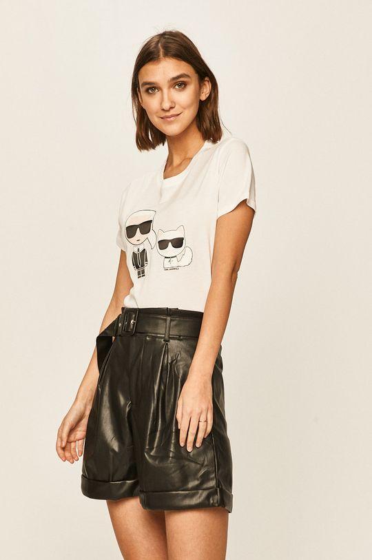 alb Karl Lagerfeld - Tricou De femei