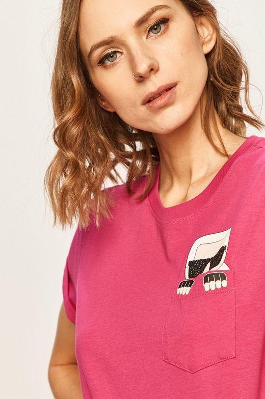 roz ascutit Karl Lagerfeld - Tricou