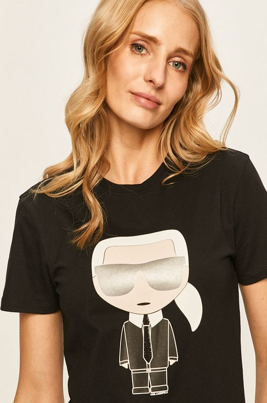 negru Karl Lagerfeld - Tricou