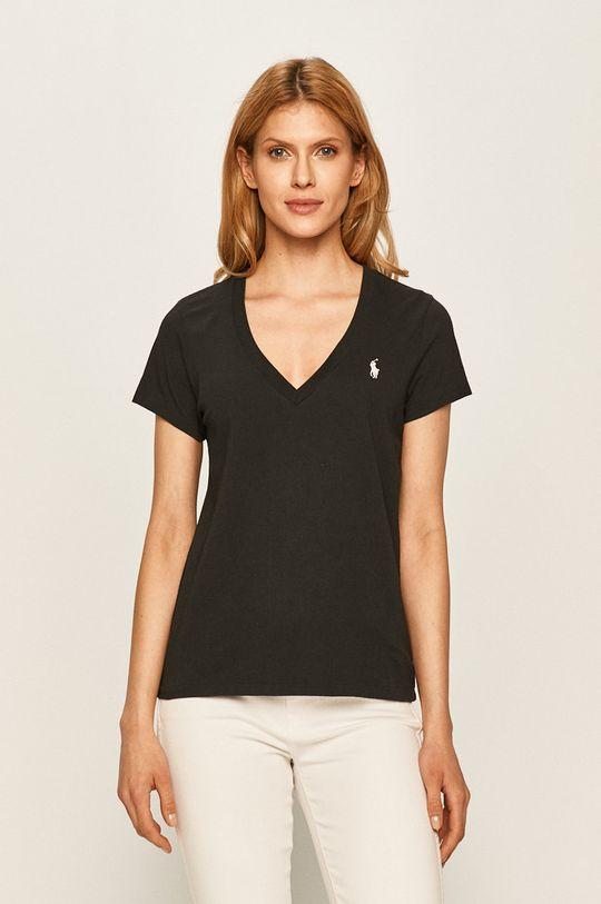 czarny Polo Ralph Lauren - T-shirt Damski